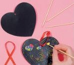 magic color scratch hearts - Valentines Day Arts and Crafts Magic Color Scratch Hearts