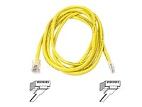 (Cable,CAT5E,UTP,RJ45M/M,25',YLW,Patch)