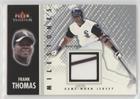 Frank Thomas  Baseball Card  2003 Fleer Tradition   Milestones   Game Used  Memorabilia   Ms Ft