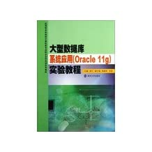 Application of large database systems (Oracle 11g) Experimental Course Applied Undergraduate Computer Specialty Training series of textbooks school-enterprise cooperation(Chinese Edition)
