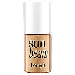 Benefit Cosmetics Sunbeam Sun Beam Tint Deluxe Mini Travel Size .13 Ounce Highlighter