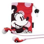 Kiddesigns - Disney Minnie Mouse Earphones Product Category: Headphones/Headphones Wired -