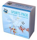 Sports pack balms. Cooling & Soothing; Warming & Easing; Sports Massage & Unscented 1 x 50g pot of each (Charity Pot)