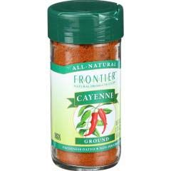Frontier Herb - Cayenne Pepper (2-1.76 OZ) - Turn up the Heat and Color in your Cooking