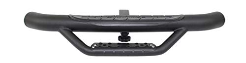 (Go Rhino D360T Textured Black Powder Coat Finish Universal Dominator Hitch Step for 2