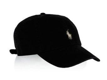 22c3b3da Polo Ralph Lauren Unisex Classic Pony Baseball Cap One Size (Black/White)