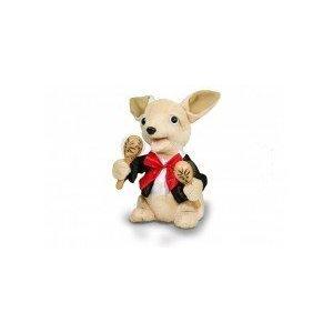 Cuddle Barn Chuey Bamba 12'' Singing Chihuahua Animated Plush Toy, Shakes Maracas to ''La Bamba'' by Cuddle Barn