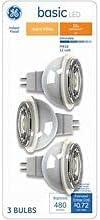Basic 50-Watt EQ LED Mr16 Warm White Dimmable Flood Light Light Bulb (3-Pack)