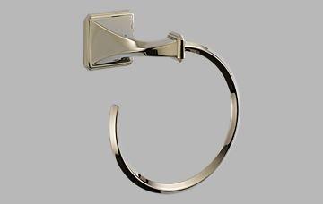 - Brizo 694630-PN Virage Polished Nickel Towel Ring