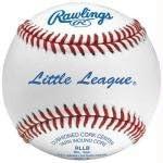 Little League Baseballs 12/Pk RLLB By: Rawlings Basic Surge & Strips