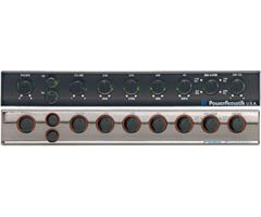 9 Pre Amp Equalizer with Subwoofer Gain Control and Four Way Fader ()
