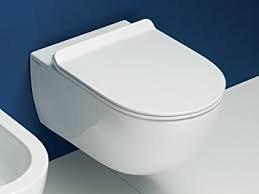 Flaminia serie App AP118G Vaso sospeso goclean bianco: Amazon.it ...
