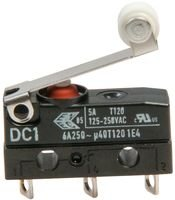 CHERRY DC1CA1RB MICRO SWITCH, ROLLER LEVER, SPDT 5A 250V by ZF ELECTRONICS