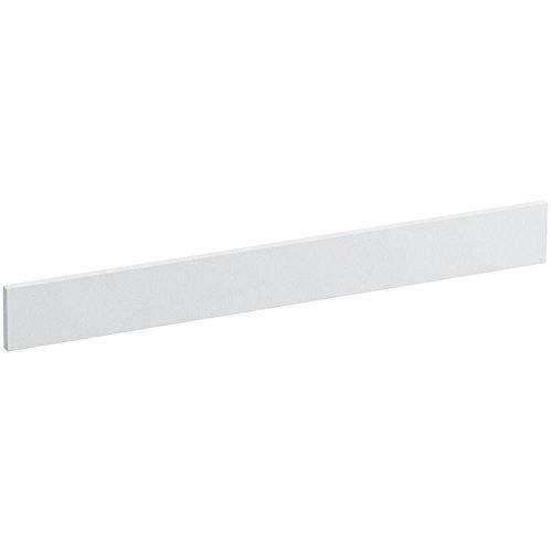 Solid/Expressions 31-Inch Backsplash Kit, White Impressions by Kohler