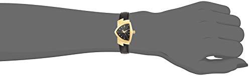 Hamilton Ventura Quartz Black Dial Shield Shaped Watch H24101731