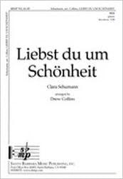 Télécharger un livre pour allumer ipadLiebst du um Schšnheit - SSA, Piano ,German Text - Sheet Music by Clara W Schumann ePub