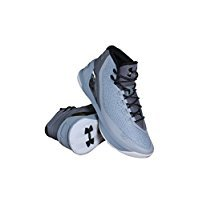 Under Armour Curry 3 Basketballschuh Herren Staal, Aluminium Zwart 035