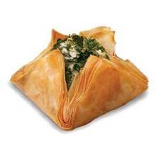 Athens Spinach and Cheese Blossom -- 600 per case. by Athens Foods