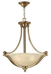 Hinkley 4652BR, Bolla Large Bowl Pendant, 3 Light, 300 Total Watts, Bronze