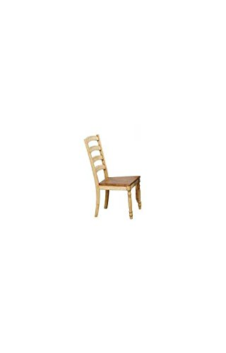 Quails Run 19 in. Ladder Back Side Chair - Set of 2