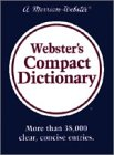 Webster's Compact Dictionary, Merriam-Webster, Inc. Staff, 087779488X