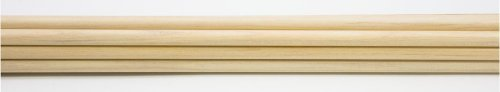 Rose City Archery Port Orford Cedar Premium Bare Shafts (12-Pack), 11/32-Inch Diameter/30 1/2-Inch Length/50-55-Pound Spine