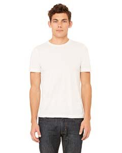 Men's Tri-blend Tee (White Fleck TriBlend) (Large)