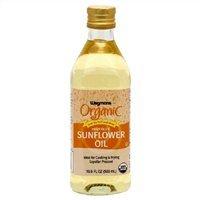Wegmans Organic High Oleic Sunflower Oil, 16.9 Fl. Oz. (Pack of 2)