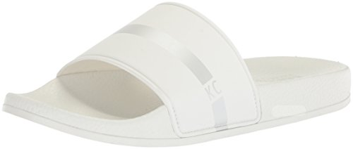 Screen Slide Kenneth White Sandal Cole Men's Reaction Silver pApqtS