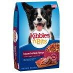 Kibbles 'n Bits Bacon & Steak Flavor Crunchy Kibble `N Meaty Bits (1-4.2 LB BAG)