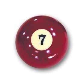 Billardkugel Nr. 7 Pool-Ball Favorite Nr. 7