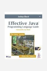 Effective Java: Programming Language Guide (Java Series) Paperback