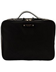 Spade New Snap - Kate Spade New York Large Wilson Road Martie Travel Cosmetic Case Bag (Black)