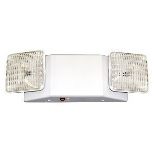 Attractive Two Head Emergency Light With Battery Back Up