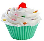 Wilton 415-9410 Silicone Pastel Standard Baking Cups, 12 Count, Pink, Blue, Green, Yellow