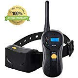 (2018 Shock Collar for All Size Dogs: PETSAFE & PETSMART Remote Dog Training - Waterproof; Rechargeable; 800 Yards; 7 Simulation mode; 4 Training - #1 Bark Ecollar Choice of Pros)