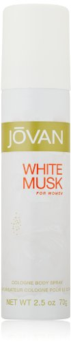 Jovan White Musk for Women Body Spray, 2.5 Fluid Ounce