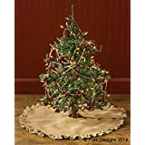Jute Burlap 60 Inch Tree Skirt