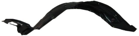 OE Replacement Toyota Corolla Front Passenger Side Fender Inner Panel (Partslink Number TO1249119) (2007 Front Fender)