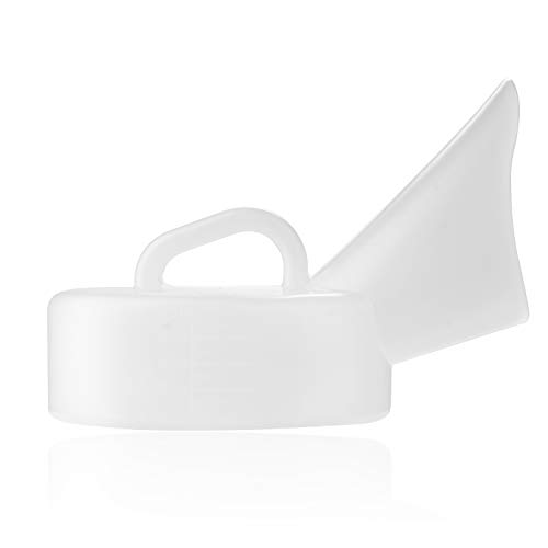 (ASHINE Female Urinals Plastic Urines Women's Portable Potty Hospital Bedpans Pee Bottles 800ML)
