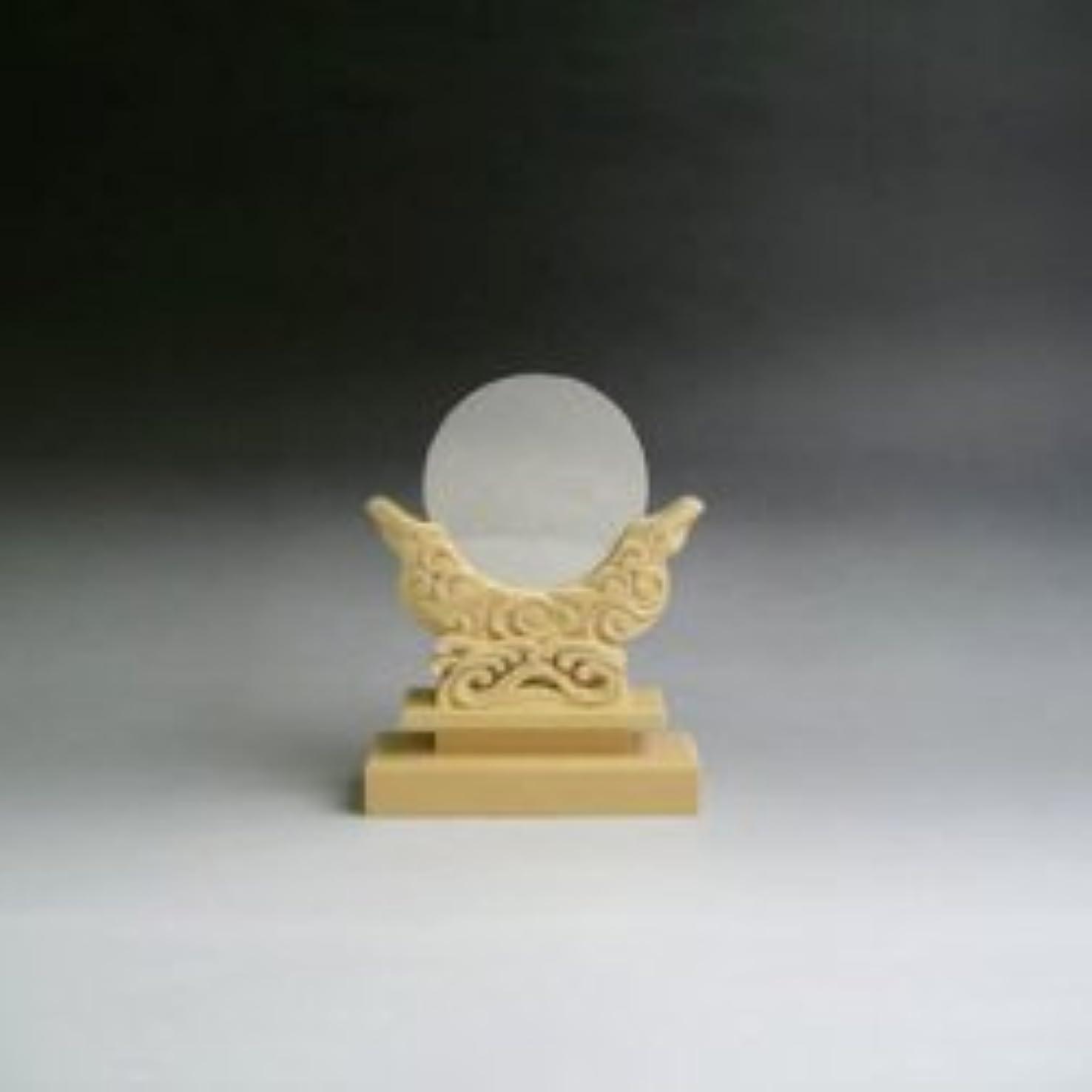 オーケストラ気晴らし断片神鏡 特上鏡+特上彫り雲形台 5寸