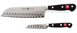 Wusthof Classic 2 Piece Santoku Asian Chef's Knife Set by Wüsthof