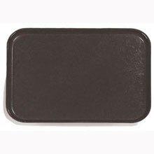 (Black Glasteel Solid Color Rectangular Fiberglass Tray 10 x 13 inch - 12 per case )