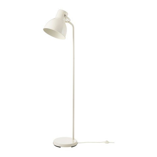 Ikea hectárea lámpara de pie en color blanco; (181 cm); A + ...