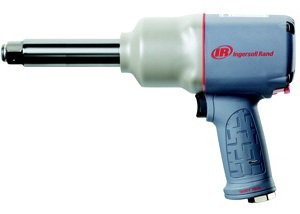 Ingersoll Rand 2145QiMAX-6 3/4'' Quiet Impactool (with 1350 ft-lb Max Torque - Best in Class Power to Weight Ratio - 6'' Anvil)