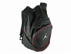 Nike Jordan Air Jumpman Backpack Book Bag-Black/Red