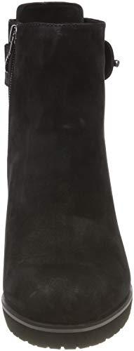 Black Ankle 9 Caprice 8 008 9 Women's Nubuc 25430 Black Boots 21 ngnBzRawU