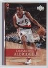 LaMarcus Aldridge (Basketball Card) 2007-08 Upper Deck - [Base] - Championship Court #68
