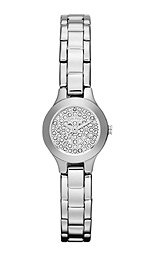- DKNY 3-Hand Pave Crystal Dial Women's watch #NY8691