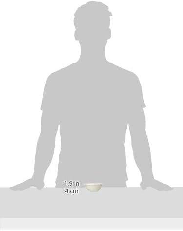 3.25 x 7.5 Mud Pie 4605038 Thankful Tradition White Dolomite Set Ceramic Serving Bowl